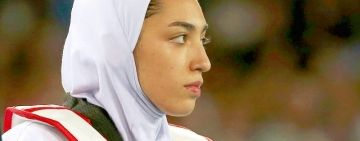 Iran's only female Olympic medallist in the Netherlands-NOS
