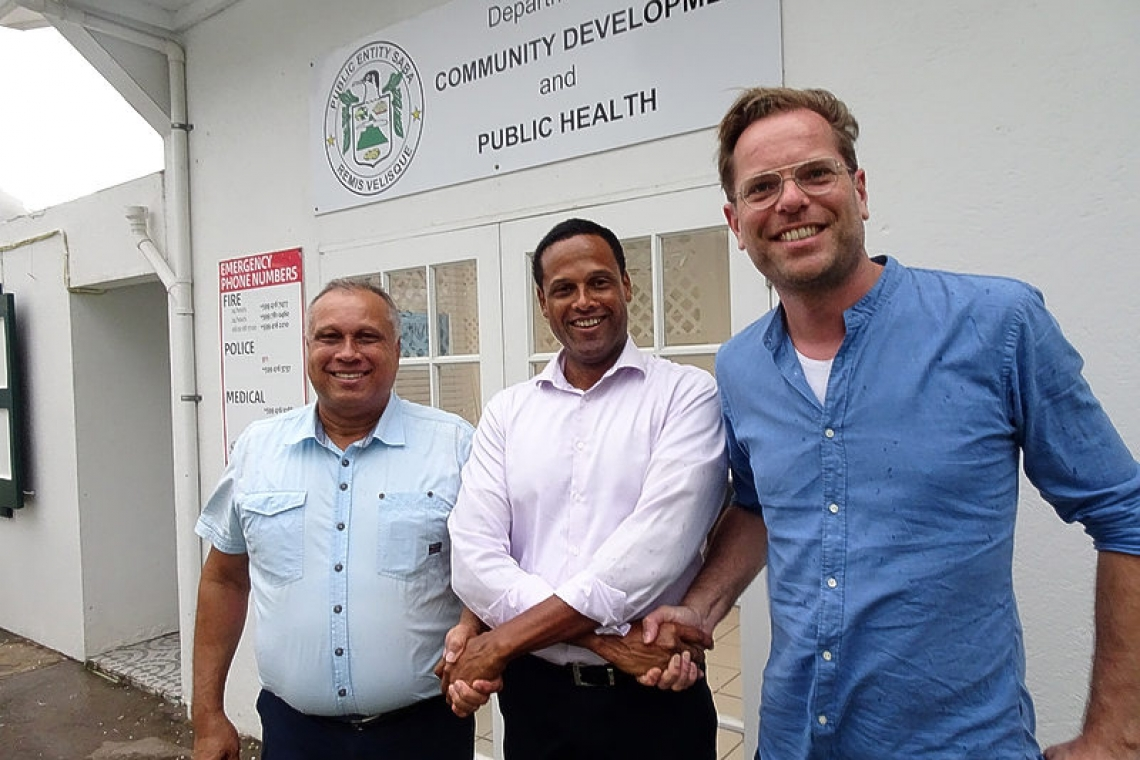 Martin Richardson new head of Saba's  Community Development Department