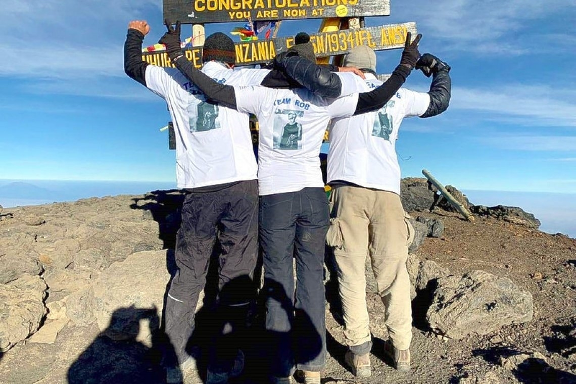 Facing Mountains: Conquering the Kilimanjaro in honour of Paralympic brother