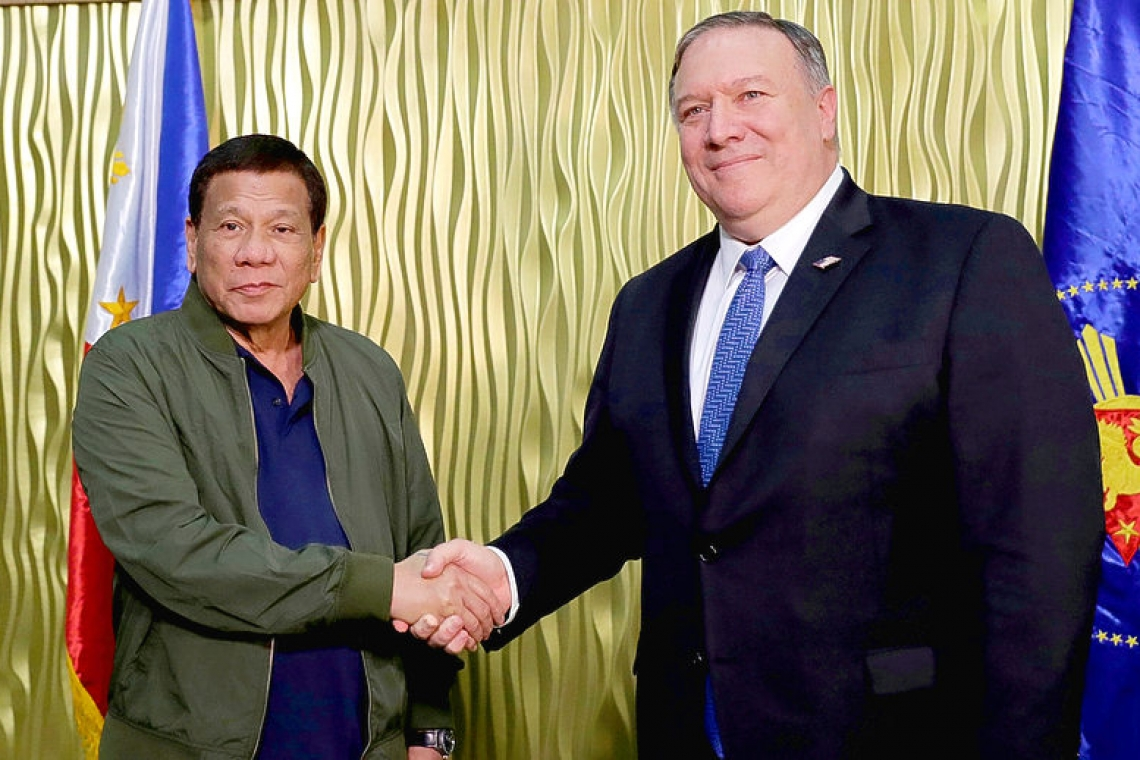 Philippine president terminates troop pact in blow to US