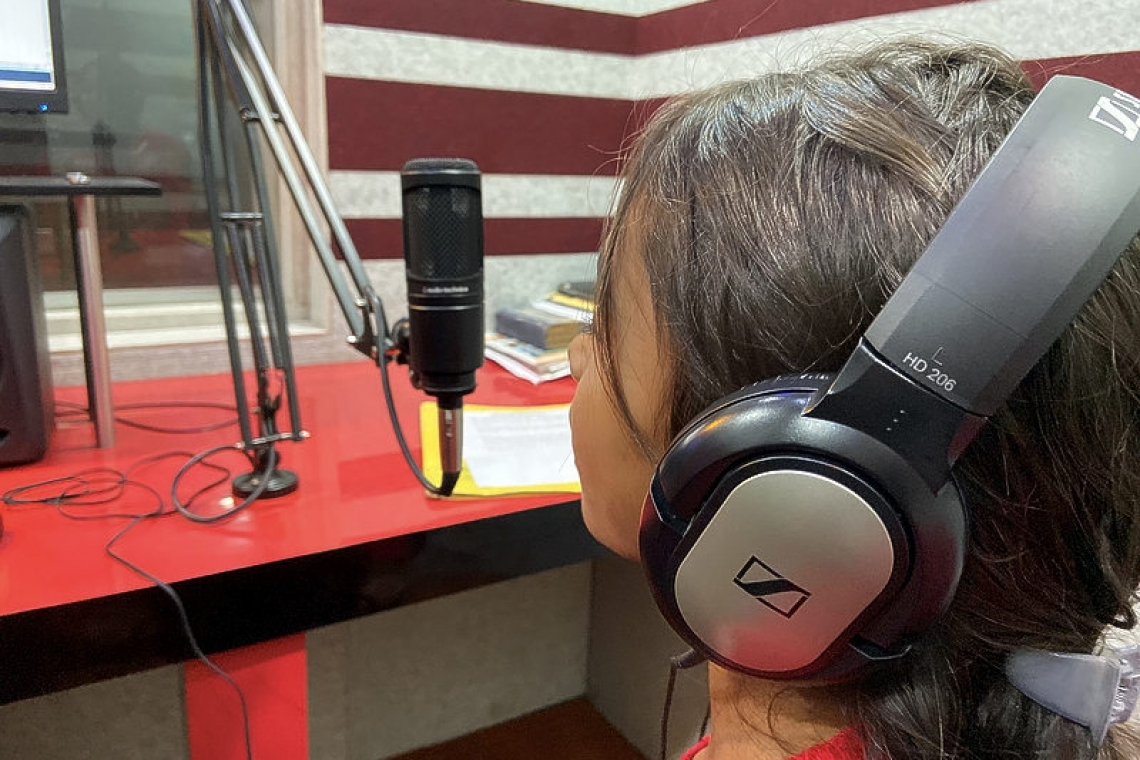 Radio show in small Indian town gives rare voice to child workers