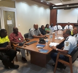 Stakeholders meet about  mobile command centre