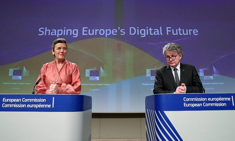 EU bets on industrial data, new rules to catch up in global technology race