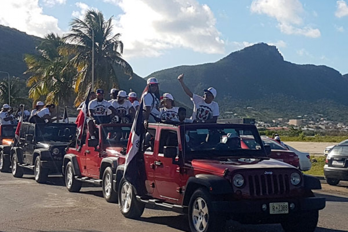 Dominicanos display festive spirits with annual Independence parade