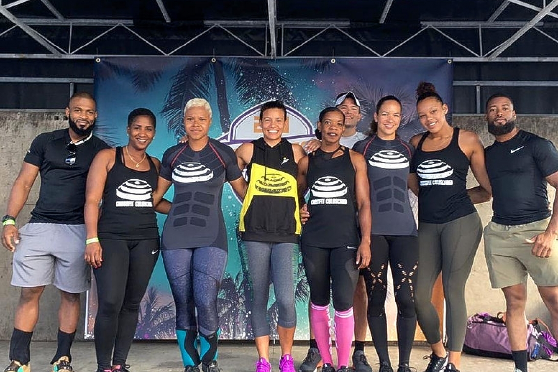 Team St. Maarten earns three medals at CrossFit Guadeloupe