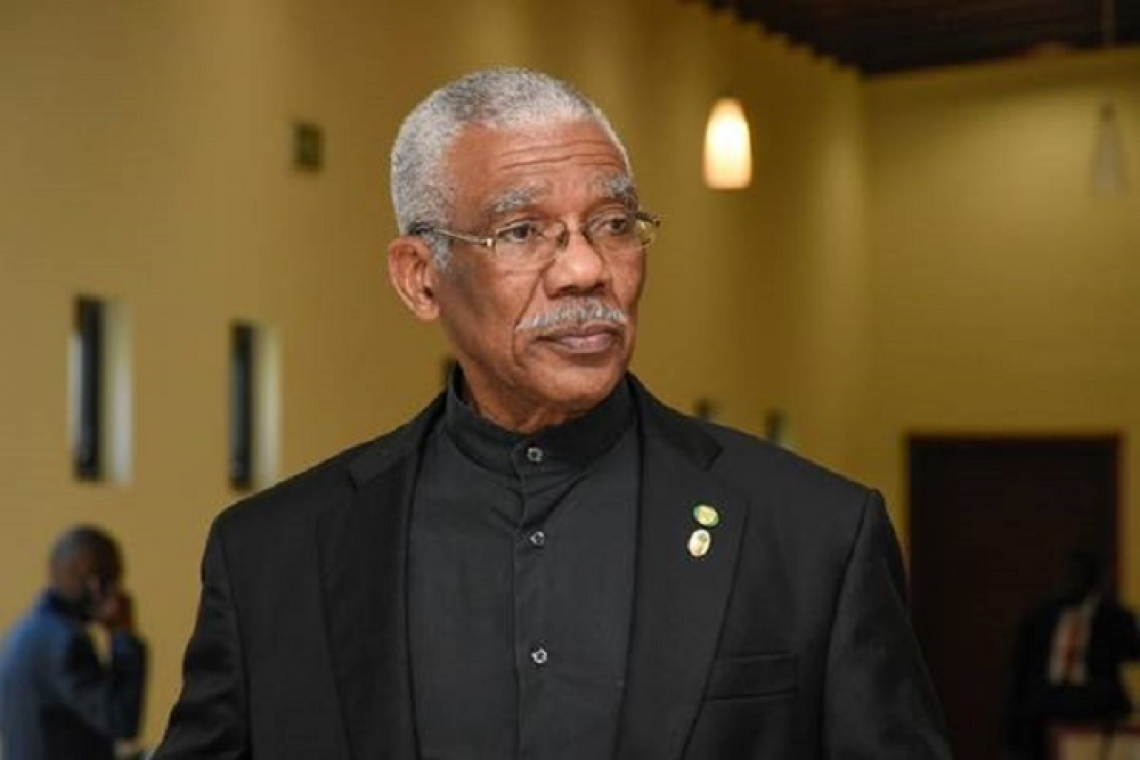 Guyana's president asks patience  as country awaits election results
