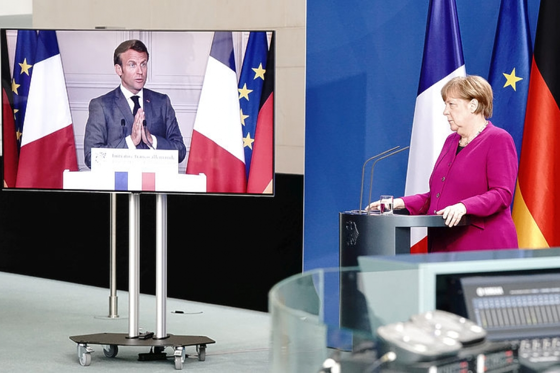 France, Germany propose 500 bln euro recovery fund