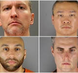 All four Minneapolis police officers charged in George Floyd death