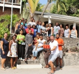 NCF seizes opportunity for staycation in St. Eustatius