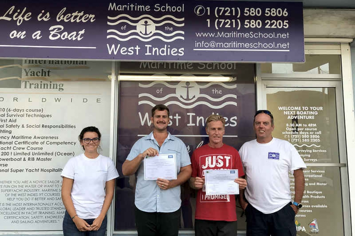 Maritime School opens  at new Cole Bay location