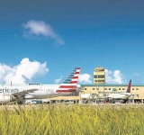 Aruba received 4,000  guests, many from US