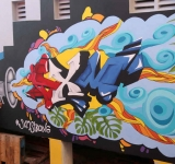 Twelve colourful murals brighten up Philipsburg