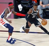 LeVert (34 points) dominates fourth, lifts Nets over Wizards