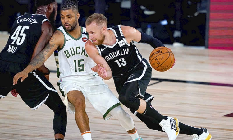 Nets hold off Bucks 119-116 as Antetokounmpo rests after half