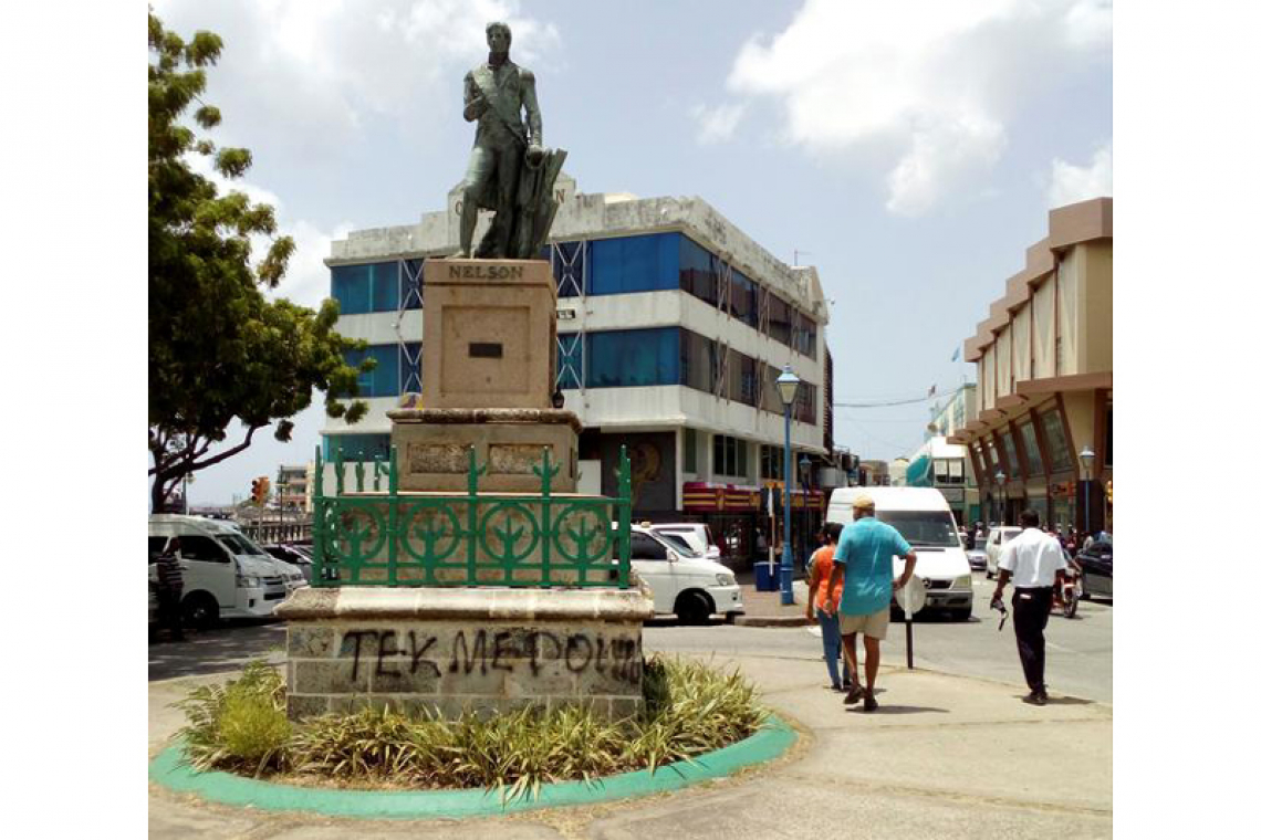 Barbados removes Nelson statue  in break with its colonial past