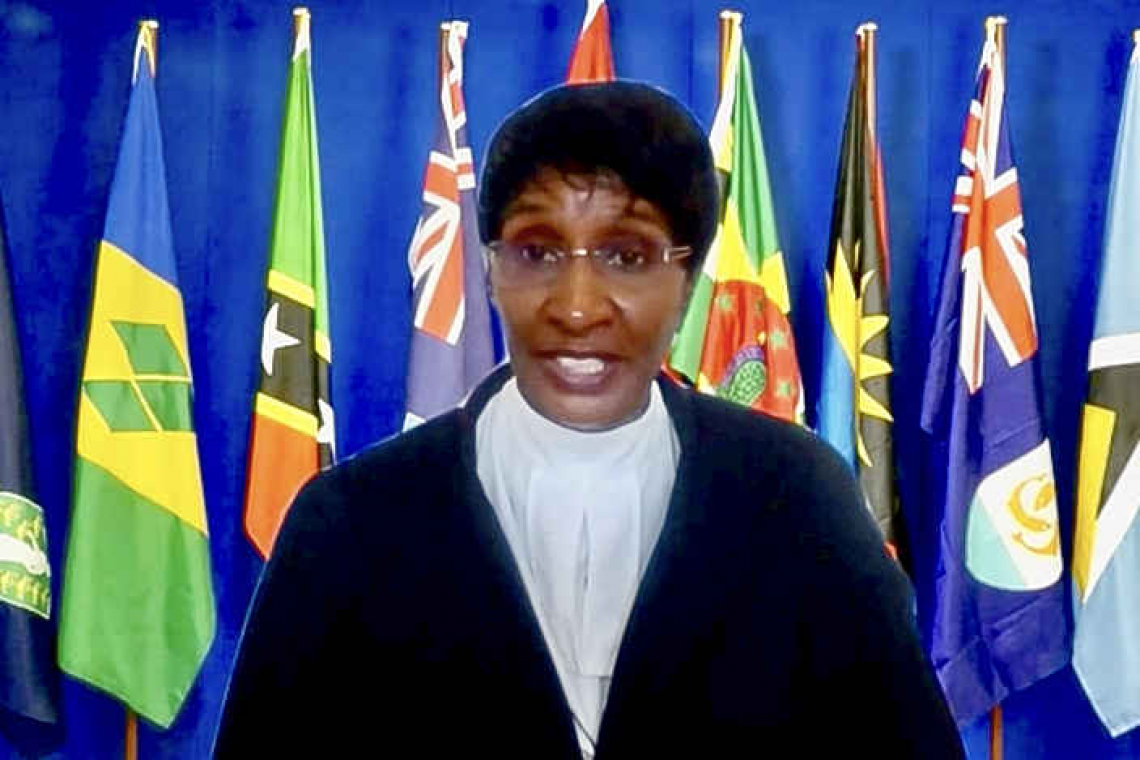 Eastern Caribbean Supreme Court  Law Opening features Chief Justice
