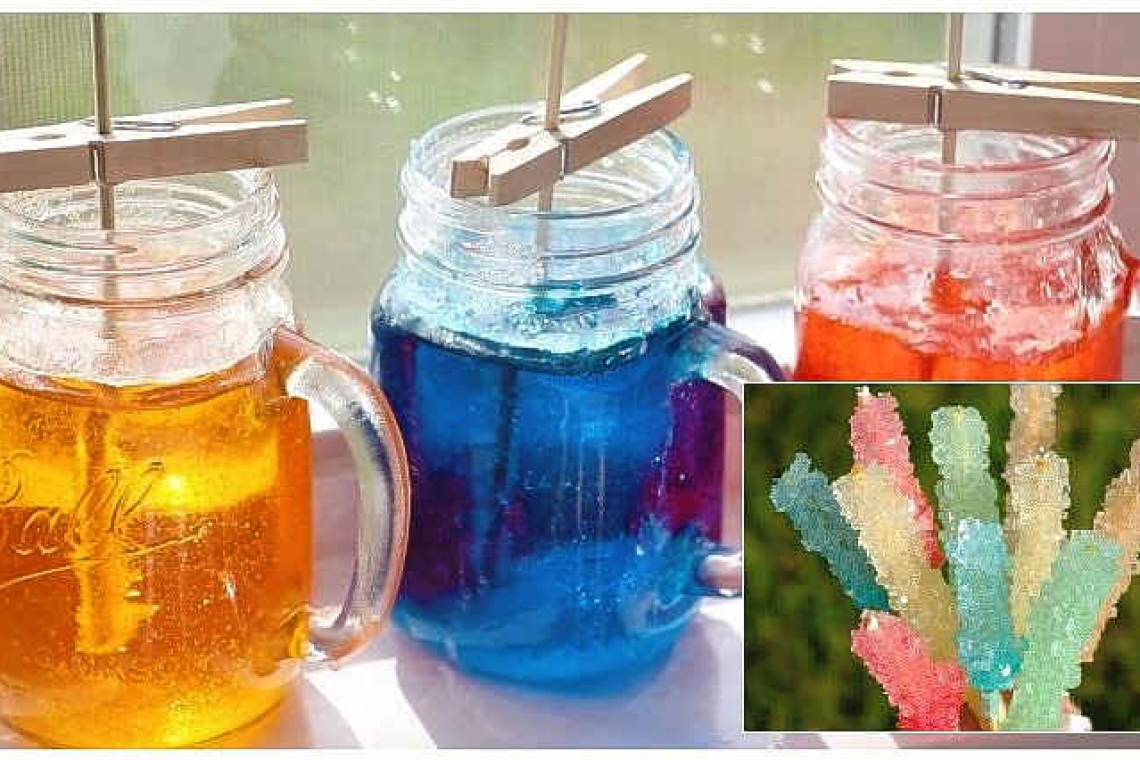Science experiment meets recipe: Let's grow some sugar crystals!