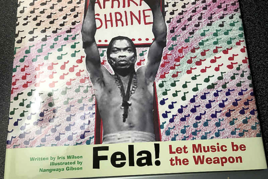 Book on late Nigerian musician  Fela donated to schoolchildren
