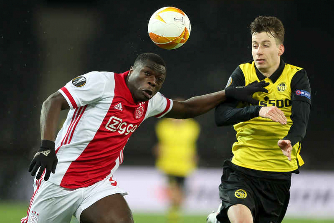 The Daily Herald - Ajax ease into Europa League quarters with Young Boys win